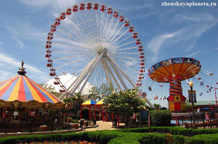 Navy-Pier---парк-развлечений