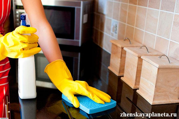 натуральные чистящие средства в домашних условиях