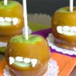 Вампирские карамельные яблоки – пошаговый рецепт