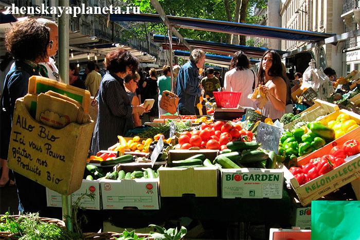 Парижский-рынок