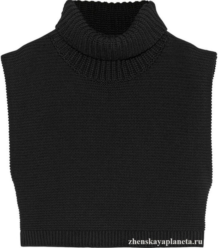 свитер-безрукавка
