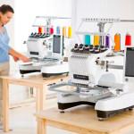 Швейно-вышивальные машины с редактированием рисунка на экране