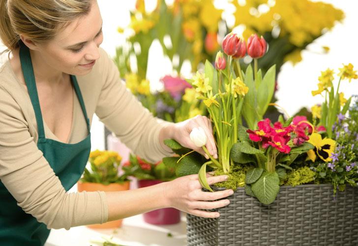 флорист-за-работой