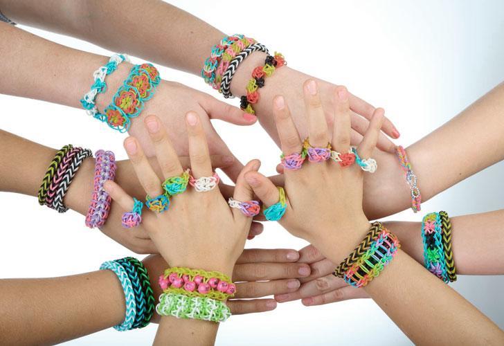 плетеные-браслеты-из-резинок