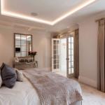 Бежевая гамма для спальни