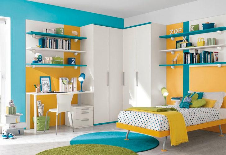 детская-комната-в-желтых-тонах