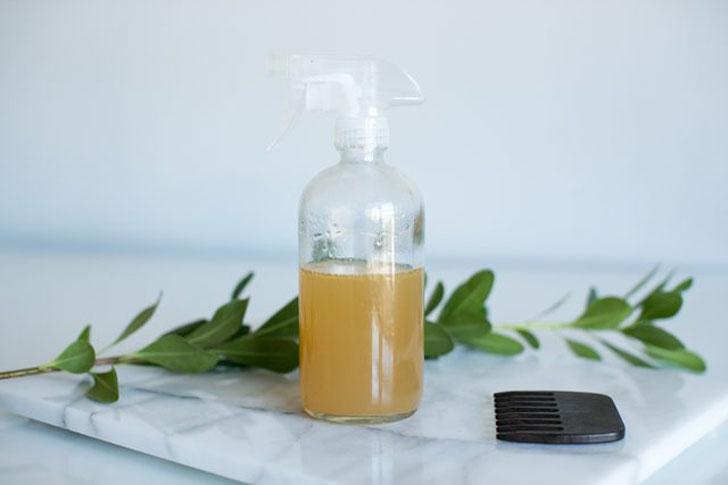 как сделать спрей для волос