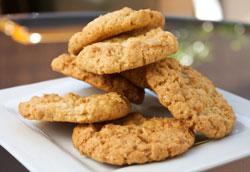 Пошаговый рецепт диетического овсяного печенья