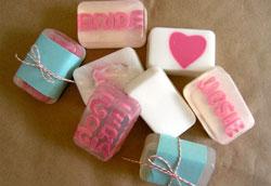 Как сделать мыло с надписью – пошаговая инструкция
