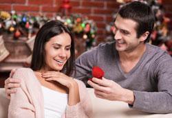 Как сделать предложение девушке в новогоднюю ночь?