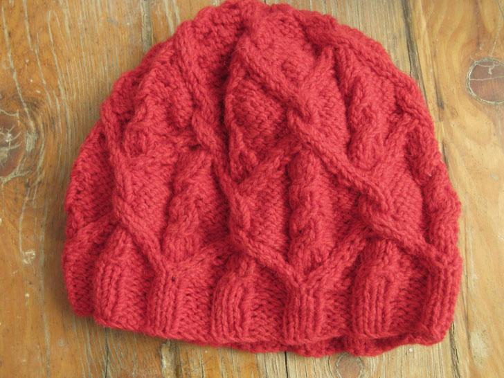 как уменьшить шерстяную шапку на пару размеров