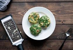 Рецепт омлета в формочках для маффинов