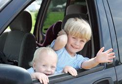 5 самых безопасных автомобилей для путешествий с детьми