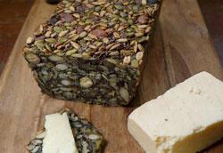 Простой рецепт зернового хлеба без муки