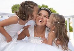 Свадебные прически для маленьких девочек