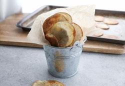 Домашние картофельные чипсы: здоровый рецепт