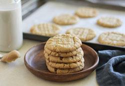 Как сделать арахисовое печенье?