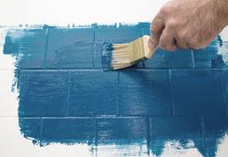 Как покрасить кафельную плитку: пошаговая инструкция