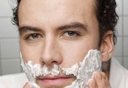 Как заставить парня побриться?