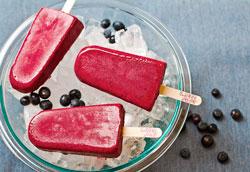 фруктовое мороженое в миниатюре