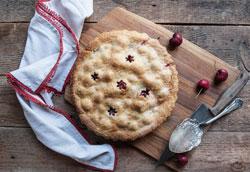 Простой рецепт вишневого пирога