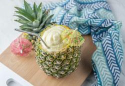 Простой рецепт ананасового коктейля из Диснейленда