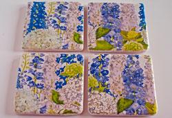 Как сделать декупаж керамической плитки?