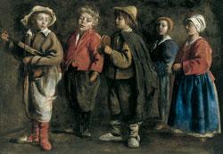 Как одевались дети в 1600-х годах?