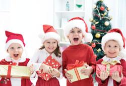 Как развлечь детей на Рождество?